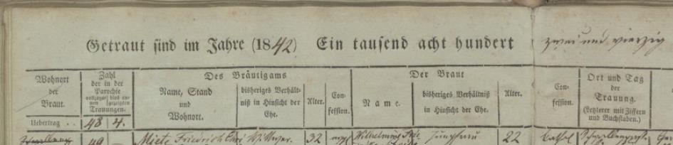 Name:  Schulz II Johann - Name, Stand und Wohnort des Bräutigams.jpg Hits: 61 Größe:  26.9 KB