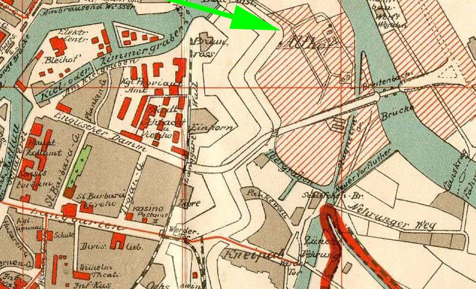 Name:  1912 Plan_der_Stadt_Danzig Kaiserhafen - Althof.jpg Hits: 186 Größe:  267.8 KB
