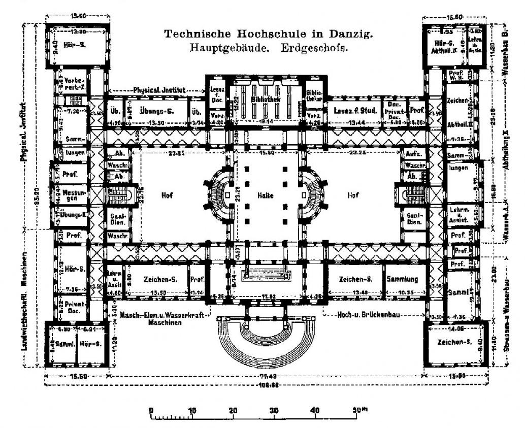 Name:  Technische Hochschule- Hauptgebäude Erdgeschossgrundriss.jpg Hits: 591 Größe:  376.7 KB
