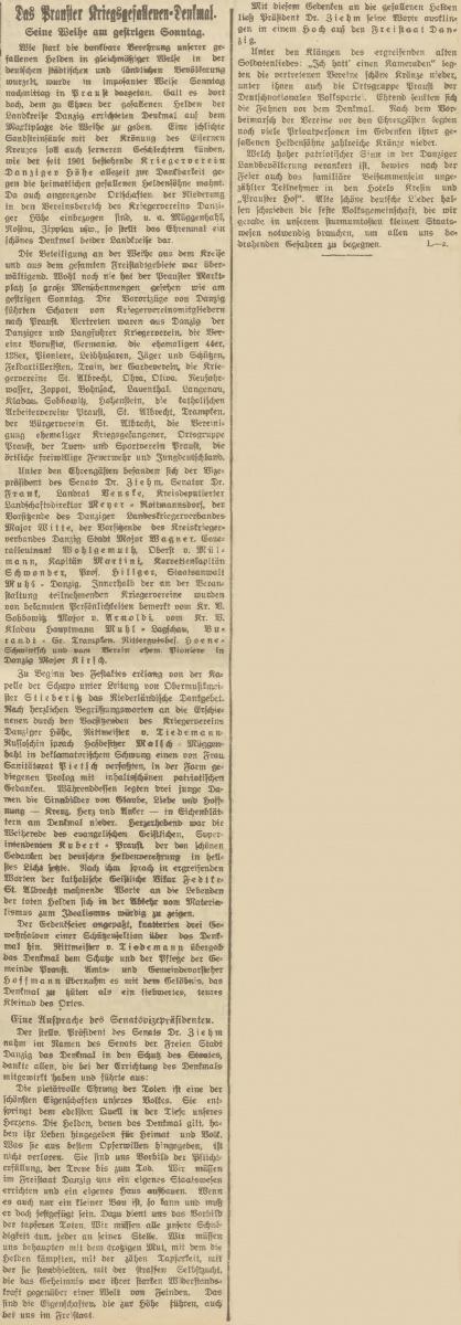Name:  1922-08-28_DAZ - Praust-Kriegerdenkmal-2.jpg Hits: 153 Größe:  209.0 KB