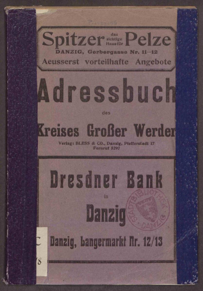 Name:  Adressbuch des Kreises Großer Werder 1930.jpg Hits: 635 Größe:  338.8 KB