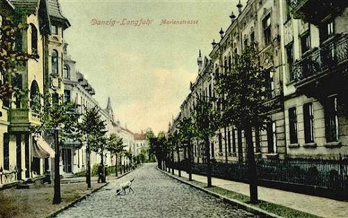 Name:  AK Langfuhr - Marienstraße.jpg Hits: 140 Größe:  76.7 KB