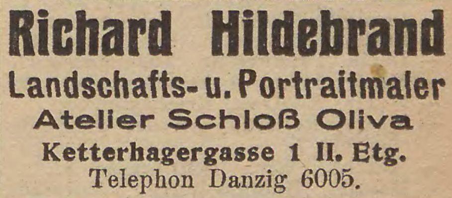 Name:  Richard Hildebrand - Anzeige 1925.jpg Hits: 373 Größe:  64.2 KB