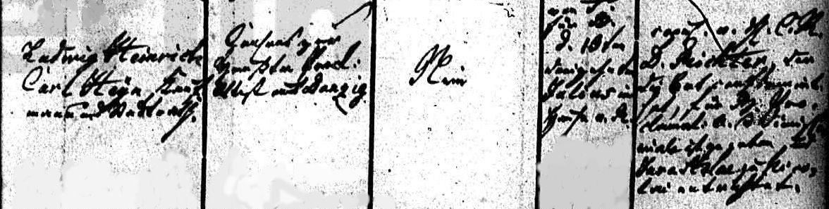 Name:  1840-07-13_Heiratseintrag Heyn, Friedrich-Heyn, Emma Maria Louise - 2 (St. Nikolai, Stettin).jpg Hits: 175 Größe:  101.2 KB