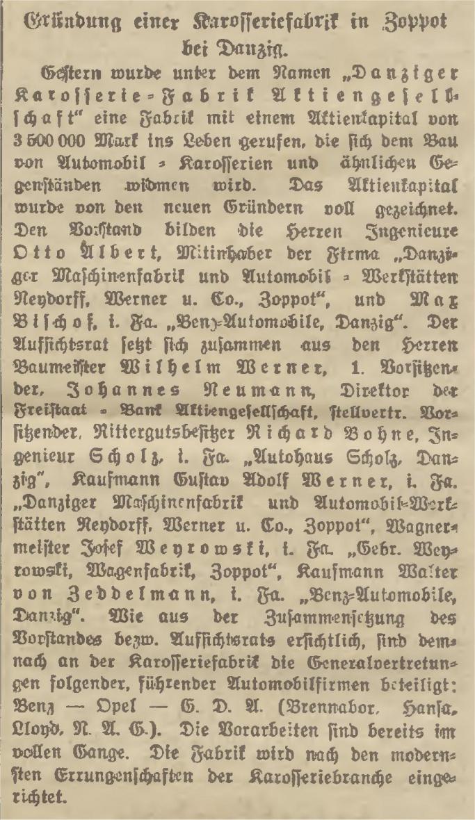 Name:  1922-02-24_Karosseriefabrik in Zoppot.jpg Hits: 350 Größe:  353.8 KB