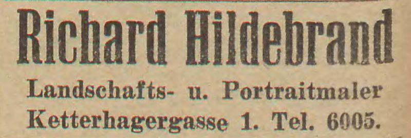 Name:  Richard Hildebrand - Anzeige 1924.jpg Hits: 169 Größe:  38.4 KB