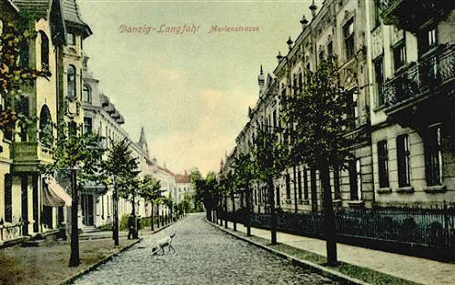 Name:  AK Langfuhr - Marienstraße.jpg Hits: 126 Größe:  76.7 KB